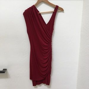 Bailey 44 deep red party dress